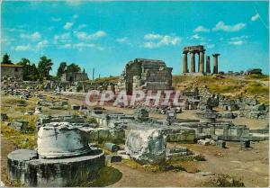 Moderne Karte Cnossos (Antique) Les Magasins et le Temple d'Apollon