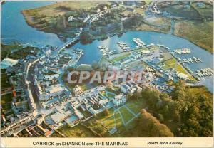 Moderne Karte Carrick on Shannon and The Marinas