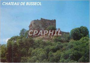 Moderne Karte Chateau de Busseol (Puy de Dome) Ce Chateau est l'un des plus anciens de la Region