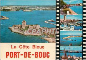 Moderne Karte Port de Bouc La Cote Bleue