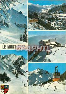 Moderne Karte Le Mont Dore et le Sancy (alt 1050 1886 m) Sports d'Hiver en Auvergne