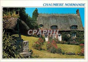 Moderne Karte Chaumiere Normande