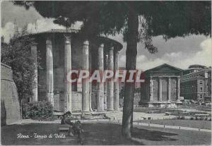 Moderne Karte Roma Temple de Vesta