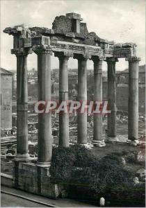 Moderne Karte Roma Temple de Saturn