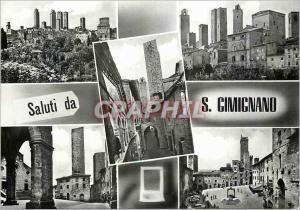 Moderne Karte Citta di S Gimignano (Siena)