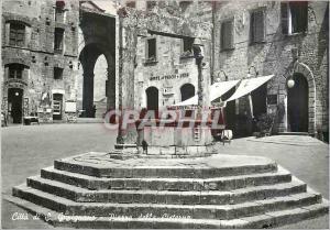 Moderne Karte Citta di S Gimignano (Siena) Pierre della Cisterna
