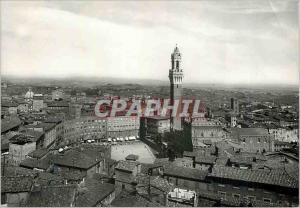 Moderne Karte Siena Panorama depuis le Dome