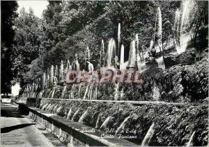 Moderne Karte Tivoli Villa d'Este Cento Fontane A Hundred Fountains Maintes Fontaines 100 Springbrunnen