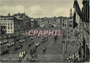 Moderne Karte Venezia Piazza S Marco Bateaux