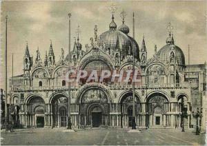 Moderne Karte Venezia Quai des Schiavoni Eglise de Salute