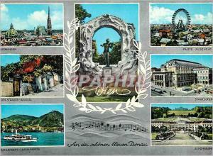 Moderne Karte Vienne Johann Strauss