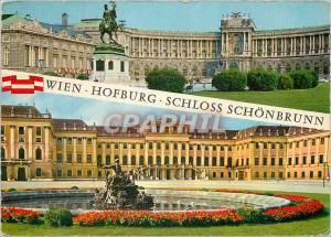 Moderne Karte Vienne Souvenir de Vienne