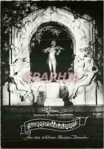 Moderne Karte Vienne Wien Johann Strauss Denkmal An der schonen Blanien Douain