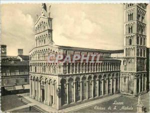 Moderne Karte Lucca Chiesa di S Michele