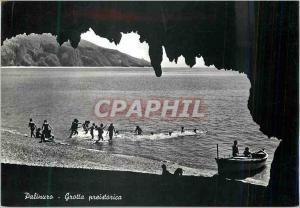 Moderne Karte Palinuro Grotta Preistorica
