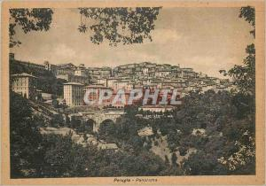 Moderne Karte Perugia Panorama