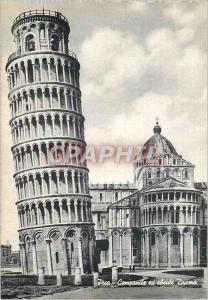 Moderne Karte Pisa Le Campanile et abside du Dome