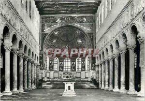 Moderne Karte Ravenna Basilica di S Apollinare in Classe (VI Sec) Interno