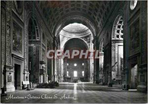 Moderne Karte Mantova Eglise de S Andre (L'Interieur)