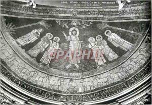 Moderne Karte Roma Basilique de St Prassede Le Mosaique de L'Abside