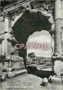 Moderne Karte Roma Il Colosseo Dall'Arco di Tito