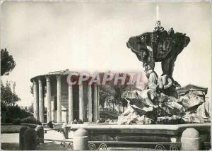 Moderne Karte Roma Temple de la Fortuna Virile