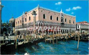 Moderne Karte Venezia Palais Ducal Bateaux