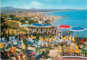 Moderne Karte Riviera Adriatica