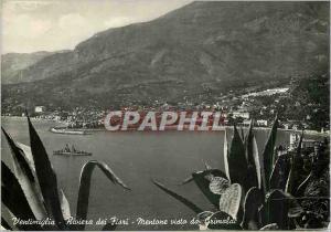Moderne Karte Ventimiglia la Riviere des Fleurs vu de Grimaldi Bateau