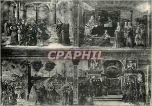 Moderne Karte Firenze Chiesa di S M Novella Affreschi nella Parete Destra del Coro
