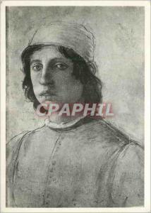 Moderne Karte Firenze Galleria Uffizi Autoritratto (Filippino Lippi)
