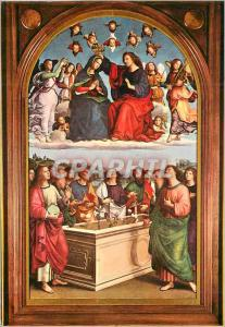 Moderne Karte Citta del Vaticano Pinacotheque Couronnement de la Sainte Vierge