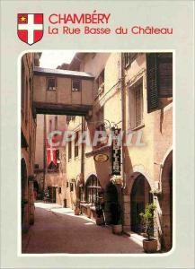 Moderne Karte Chambery (Sovoie) Images de Chez nous La Rue Basse du Chateau artere Typique de la Ville au Maye