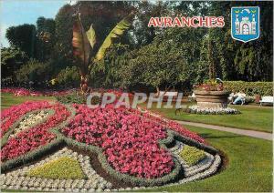 Moderne Karte Avranches (Manche) Le Jardin Public