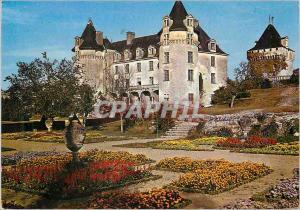 Moderne Karte Chateau de la Roche Courbon (XVe et XVIe S) Commune de St Porchaire (Char Mar) Les Jardins