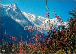 Moderne Karte Chamonix Mont Blanc (Hte Savoie) Alt 103 m L'Aiguille du Midi le Massif du Mont Blanc