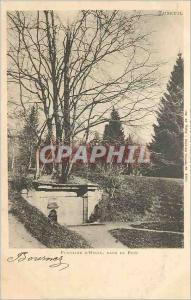 Ansichtskarte AK Luxeuil Fontaine d'Hygie dans le Parc