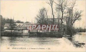Ansichtskarte AK Yvre L'Eveque L'Huisne a la Filature