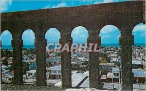 Moderne Karte City of Aux Coyes Haiti West Indies