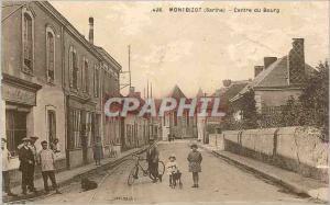 Ansichtskarte AK Bontbizot (Sarthe) Centre du Bourg