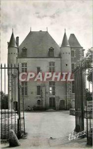 Moderne Karte Bellegarde du Loiret (Loiret) Le Chateau (Monument His) XIVe S