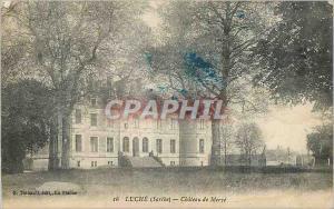 Ansichtskarte AK Luche (Sarthe) Chateau de Merve