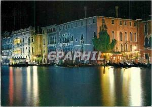 Moderne Karte Venise la nuit Grand Canal et Ca d'Oro