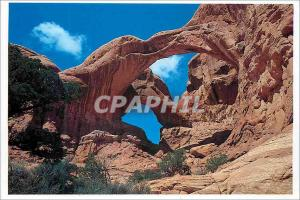 Moderne Karte Utah Double Arch National Park