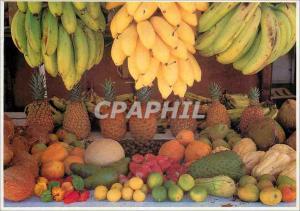 Moderne Karte Couleurs de la Martinique Etalage aux Mille Saveurs