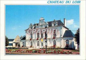 Moderne Karte Chateau du Loir (Sarthe) Ville Fleurie La Mairie