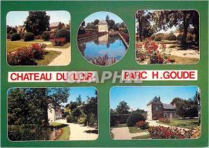Moderne Karte Chateau du Loir (Sarthe) Le Parc H Goude