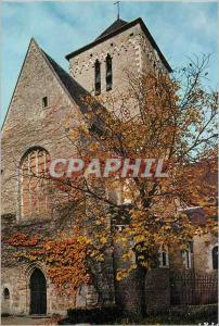 Moderne Karte Abbaye Saint Pierre de Solesmes (Sarthe) entee de l'Eglise Abbatiale