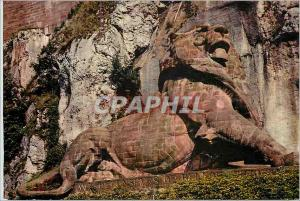 Moderne Karte Belfort (Terr de Belfort) Le Lion (Oeuvre de Bartholdi) Hauteur 11 m Long 22 m