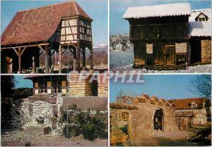 Moderne Karte Ungersheim (Haut Rhin) Ecomusee de Haute Alsace le Pigeonnier la Porcherie